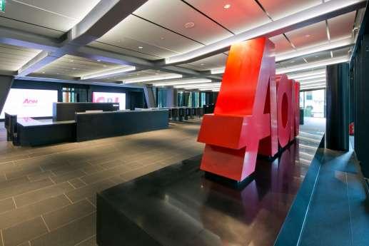 AON office reception in the Leadenhall Building, London