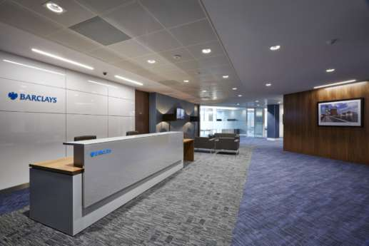 Barclays Bristol office reception