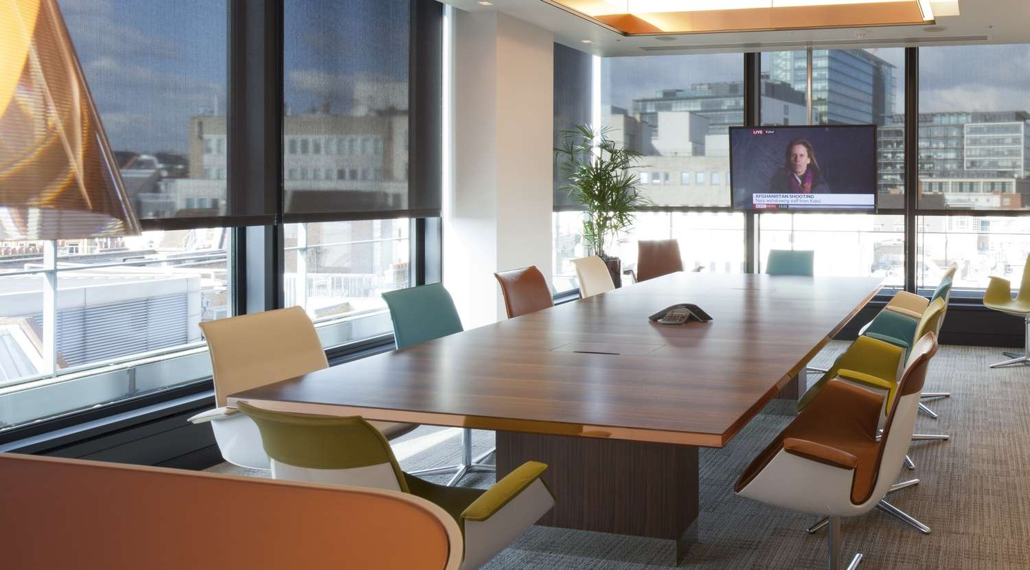 London office fit out for international law firm for Design firms london