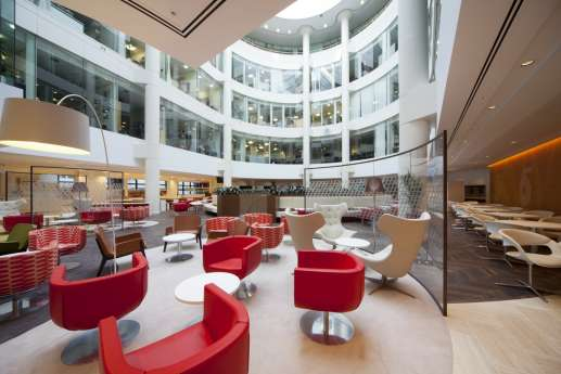 Designer seating in legal office fit out