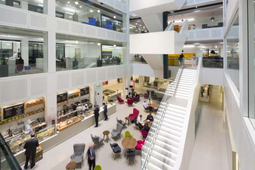 PwC Embankment Place fit out