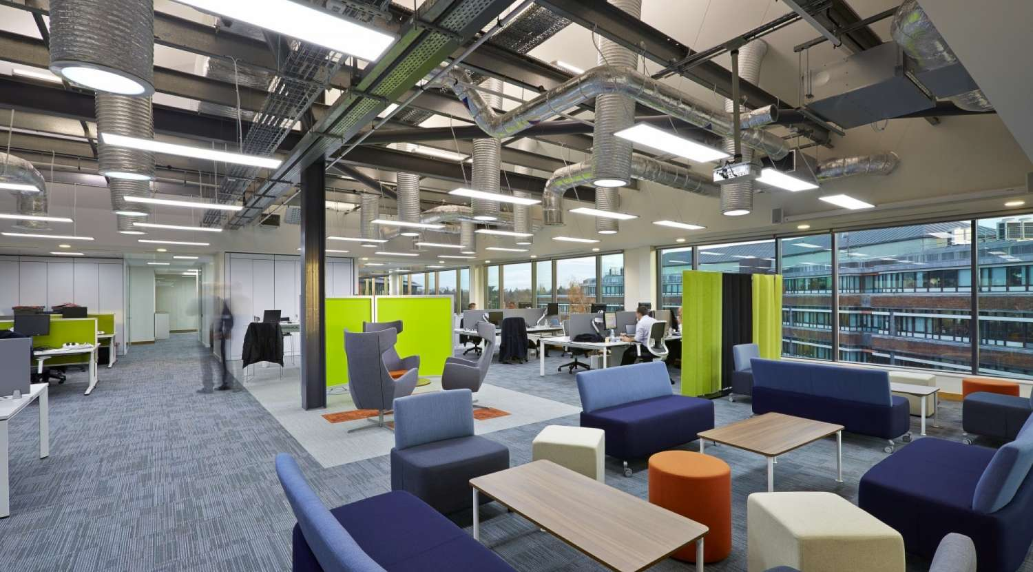 Fit out for rwe npower overbury for Office fit out