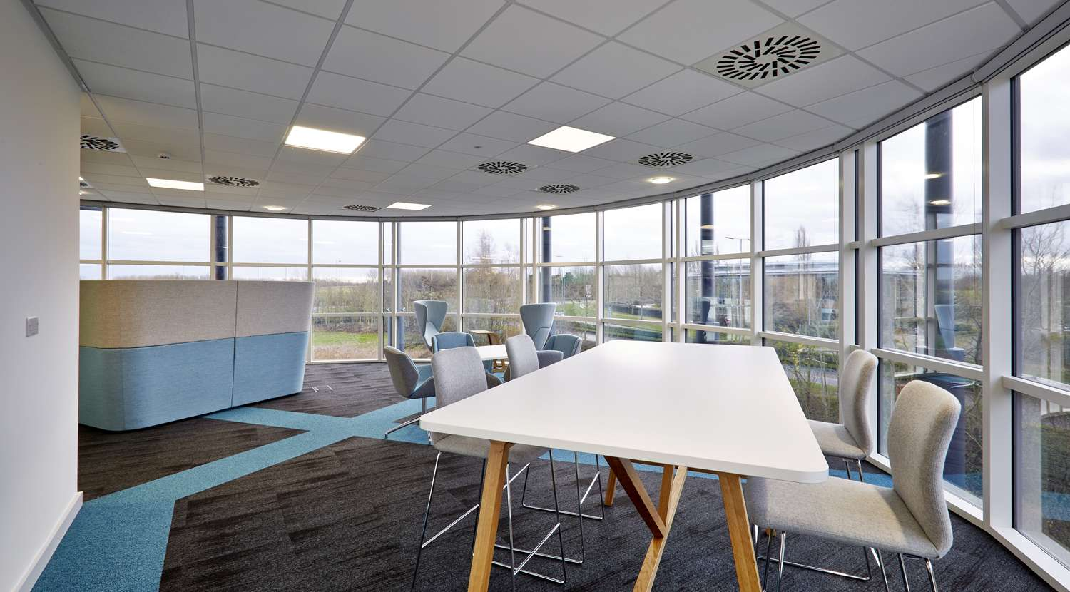 Cambridge office design for sepura overbury for Office design cambridge