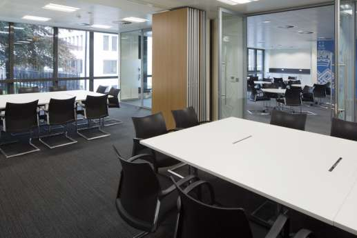 Functional meeting room and chairs