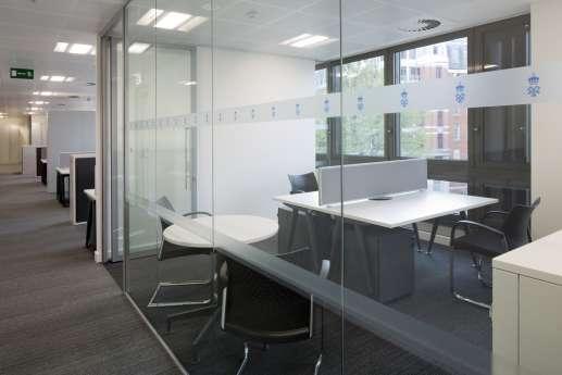Meeting room in London office