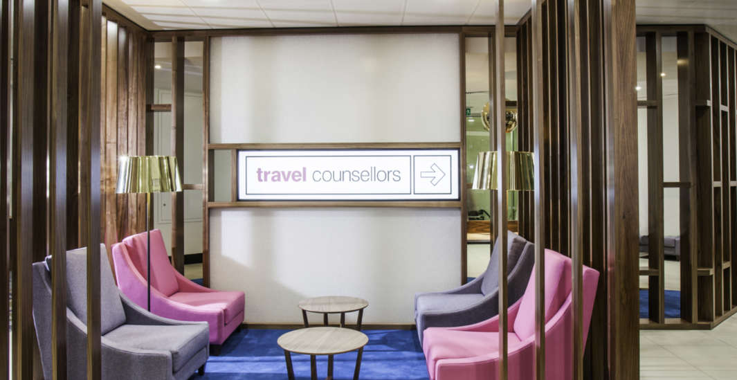 Office design for Travel Counsellors