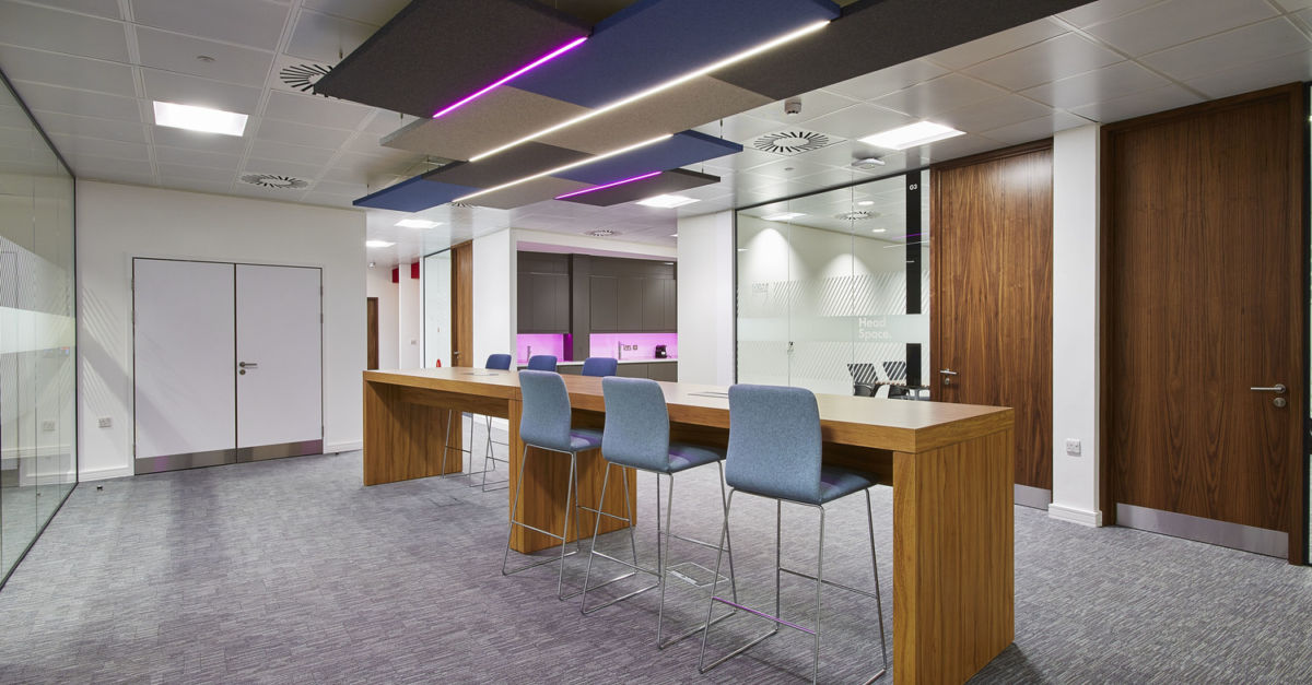 Goodyear dunlop office fit out case study overbury for Office fit out
