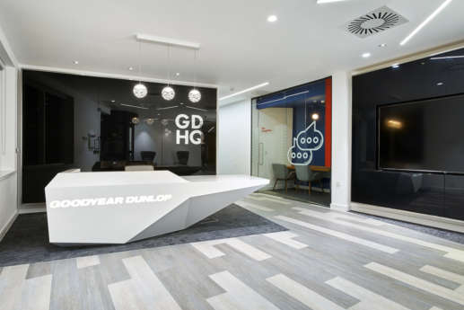 Goodyear Birmingham office reception