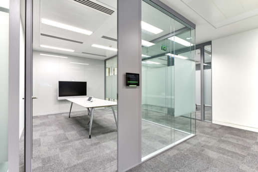 Connected meeting room in modern fit out