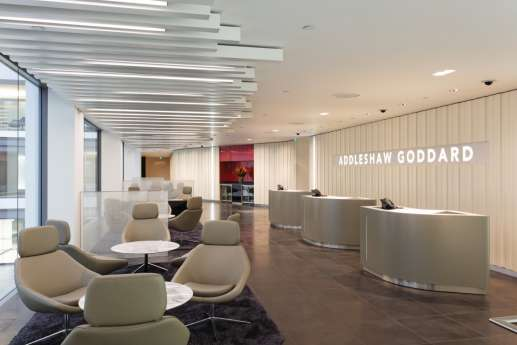 High end office reception and fit out
