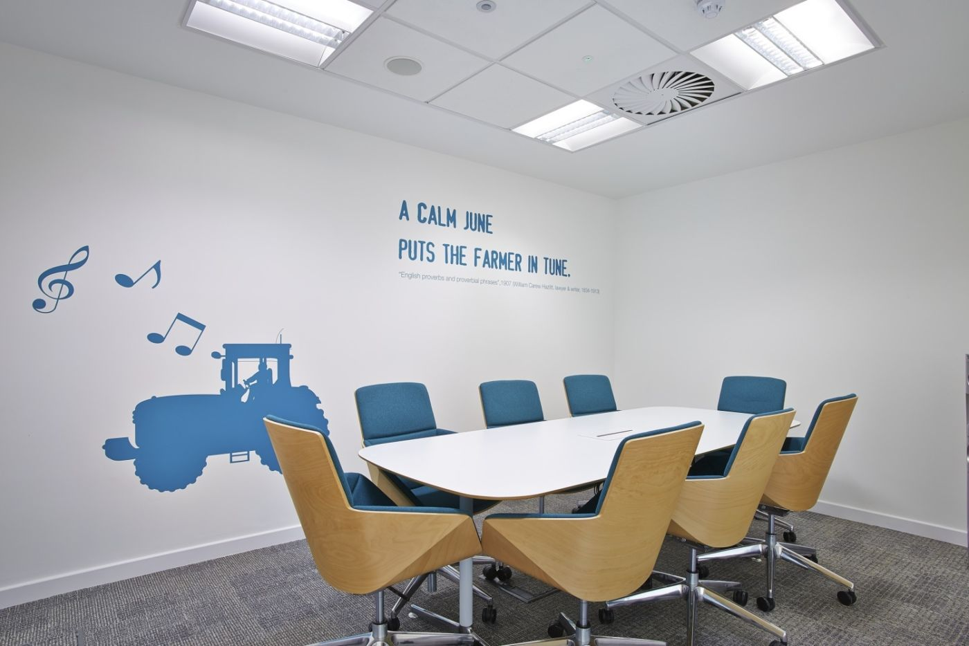 Small meeting room fit out