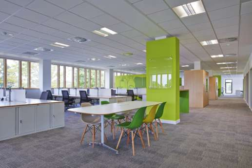 Staff seating office design