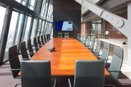 Boardroom in the leadenhall building