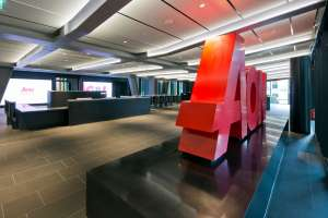 AON office reception in the Leadenhall Building, London
