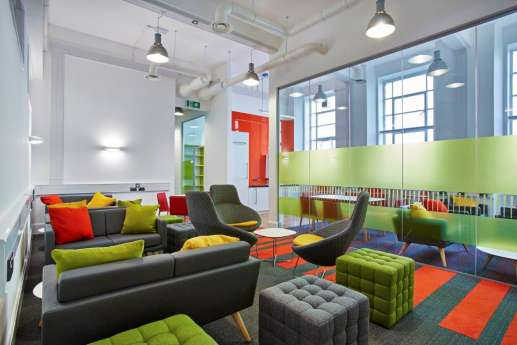 Alternative seats in office fit out