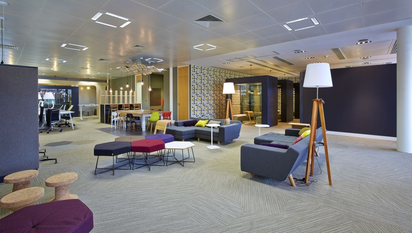 Alternative seating in office design