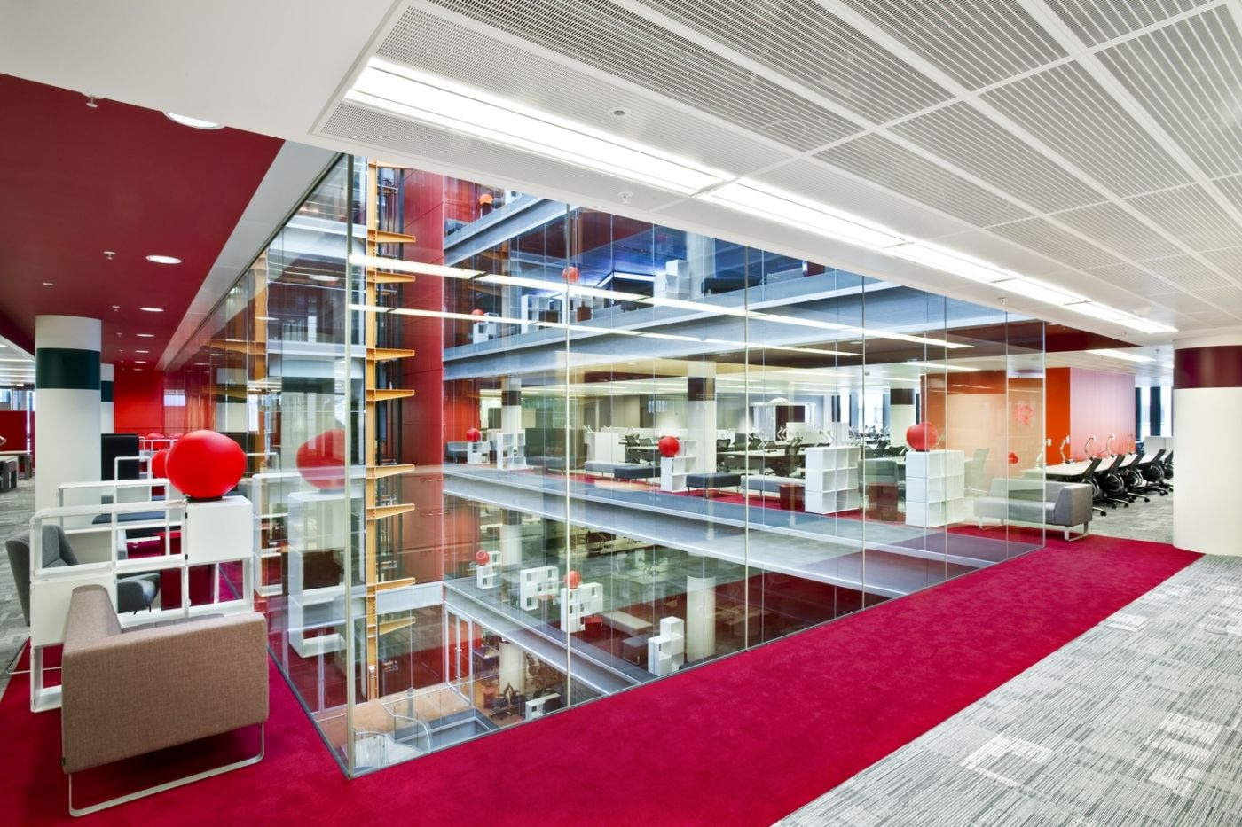 Broadcasting house fit out