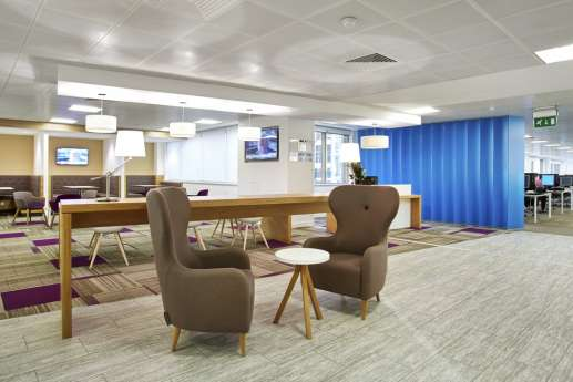 Stunning office fit out and refurbishment images overbury - Bnp paribas birmingham office ...