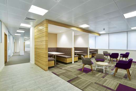 BNP Paribas office design