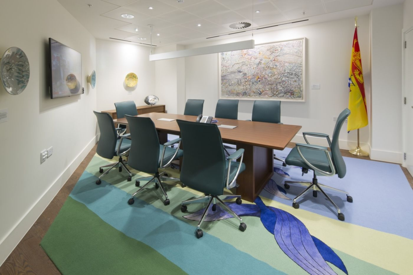 Office fit out of meeting room