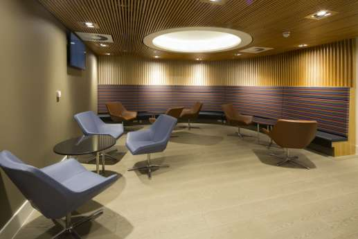 Informal seating in office fit out