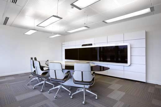 Modern communication room fit out