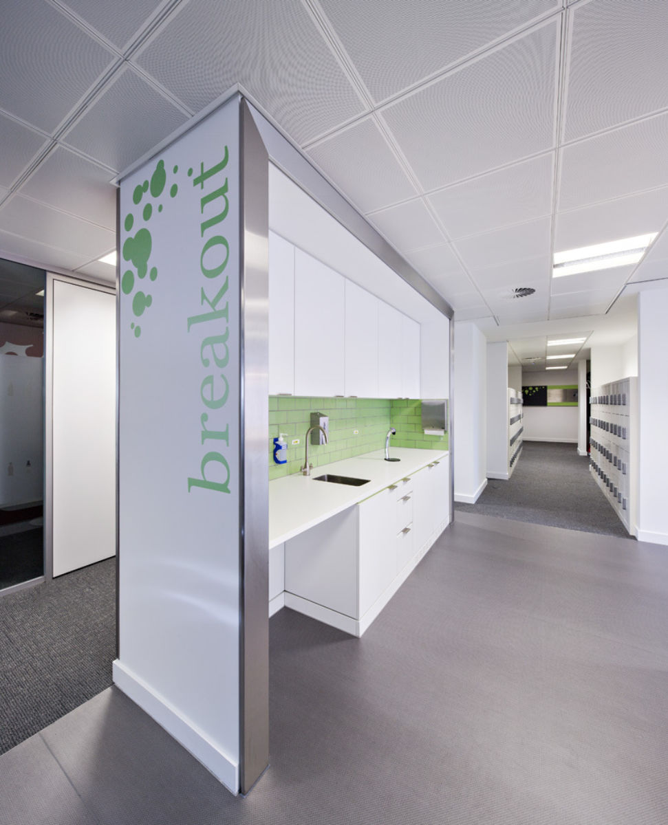 Breakout office fit out