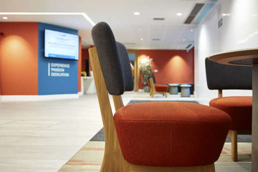 Office furniture in University of Coventry