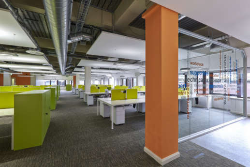 Seating in office fit out