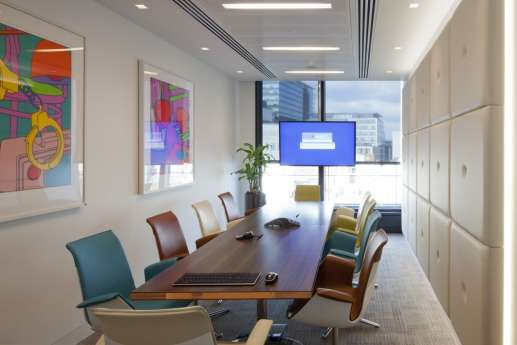 Freshfields staff meeting area