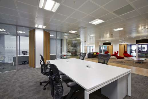 Different meeting points in office fit out