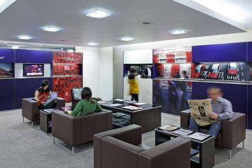 Client seating in HSBC retail bank