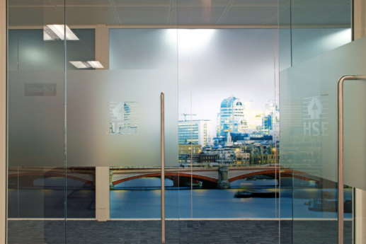 Wall art in office design