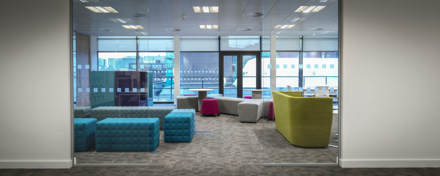 Fit out of alternative seating area