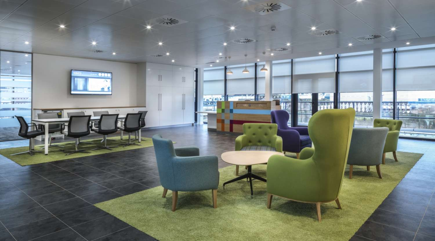 Office design and build overbury - Bnp paribas birmingham office ...