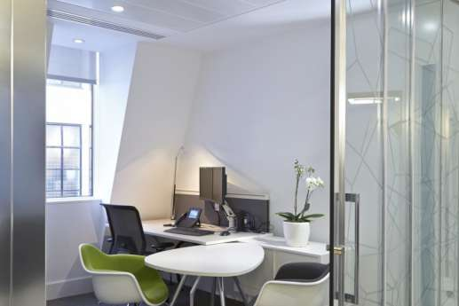 Meeting room in office design