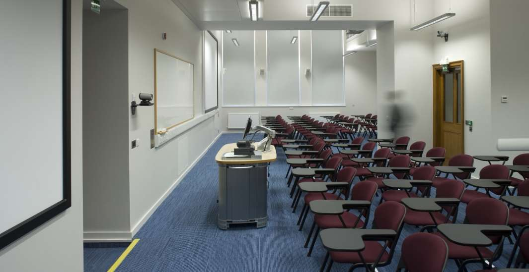 Seminar room in modern fit out