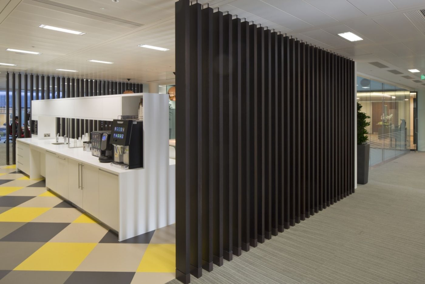Tea point in office fit out