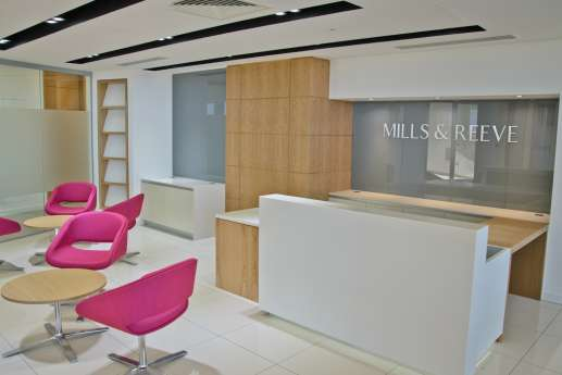 Mills & Reeve cambridge office reception