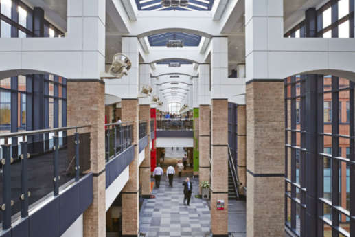 Office atrium in warwick