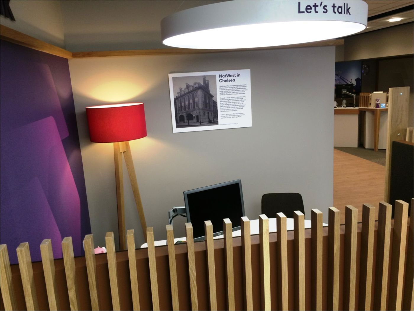 Fit out of private meeting area