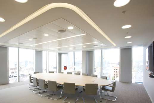Fit out of large boardroom