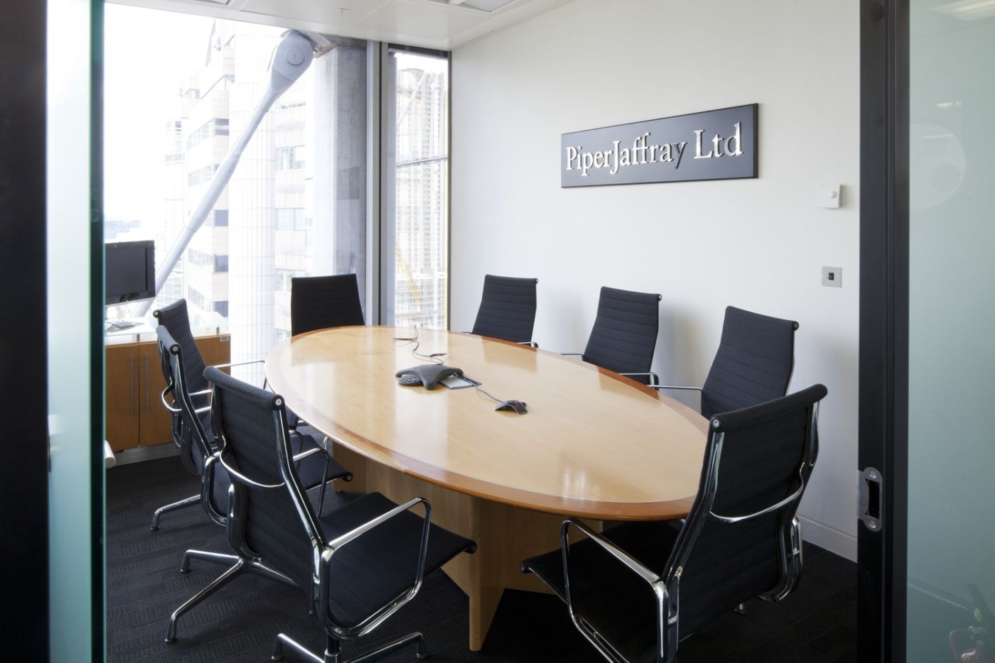 Office meeting room in new fit out