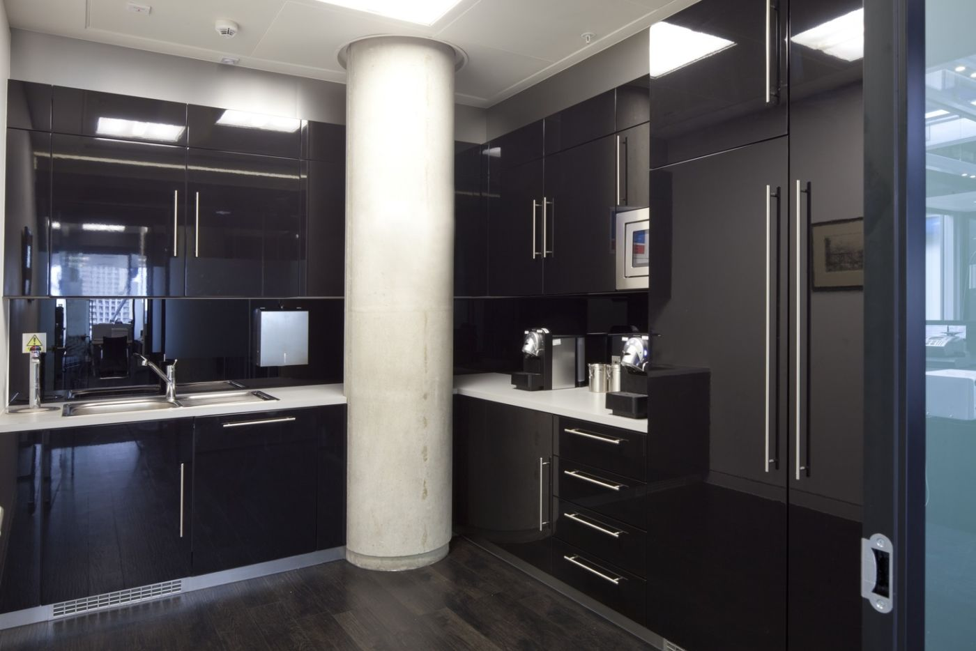 Kitchen in office fit out
