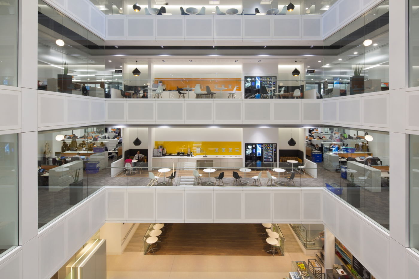 Different levels in fit out