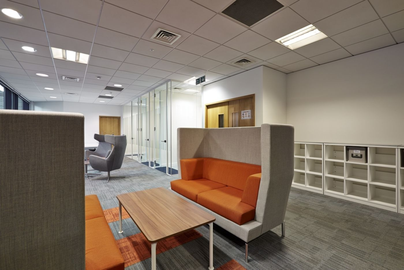 Informal meeting booth fit out