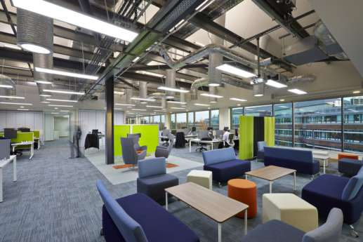 Rwe npower office fit out