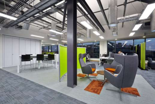 Informal meeting chairs in office design
