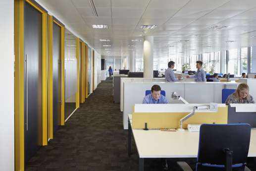 Staff desk fit out