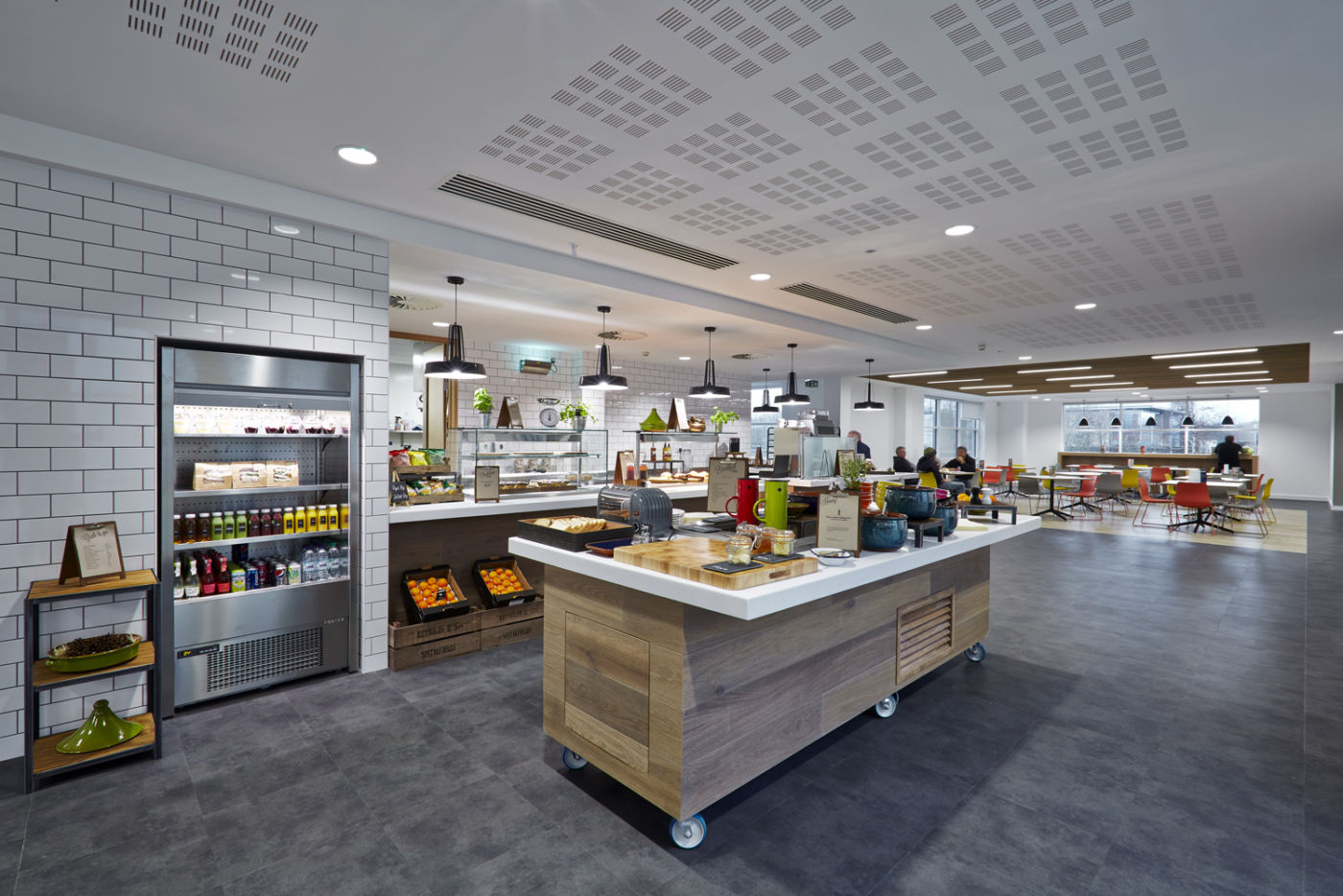 Staff canteen fit out
